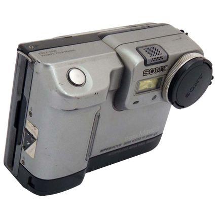 Camera-Digital-Sony-Mavica-FD83---Funcionando-em-perfeito-estado-de-consevacao