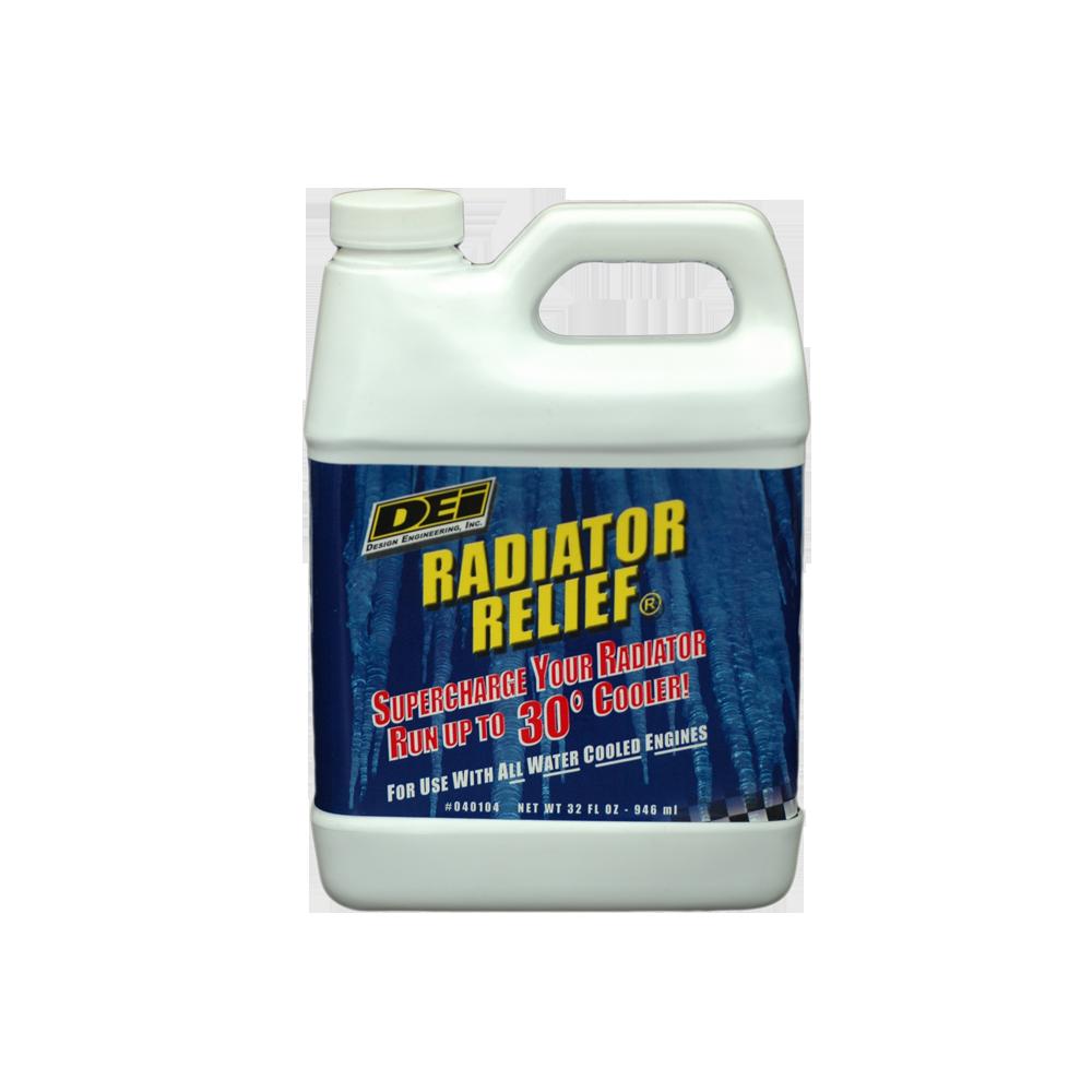 Aditivo de radiador p/ motores de alta performance Radiator Relief DEI