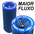 Filtro de ar Compacto lavável com acelerador de fluxo. Apenas R$ 39,90