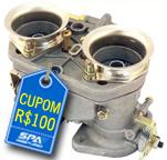GANHE CUPOM R$100 na compra de Carburador SPA 40IDF High Volume.