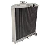 Radiador de água para Honda Civic EG/EK motor D16 100% Alumínio. Apenas R$ 799,90