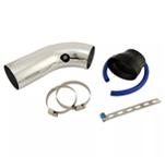 Kit tubo de admissão de ar (CAI) 3pol x 3pol em alumínio anodizado.  Apenas R$74,90