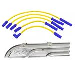 Cabos de vela de silicone 10.4mm VW AP COM pino + Organizador (régua acrílica). Apenas R$149,49