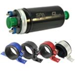 Bomba elétrica de combustível externa 9BAR + suporte (opções de cores). Por R$282,90!