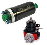 Bomba elétrica de combustível externa 9BAR + Dosador De Combustível (opções de cores). Por R$499,90!