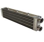 Intercooler ar/ar 550x140x68,5mm com colméia tipo Delta & fin (Ideal para grade de Gol quadrado)
