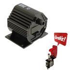 Bobina de ignição alta performance 60.000v Conector padrão Mi. GRÁTIS: Interruptor tipo chave caça com led.